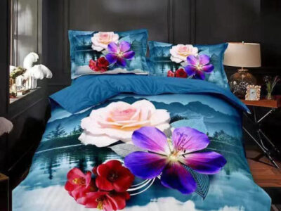 King size 3D bedsheets no 1 Quality